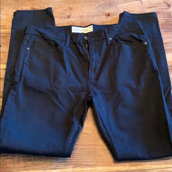 TOPMAN Men's black jeans 34x34